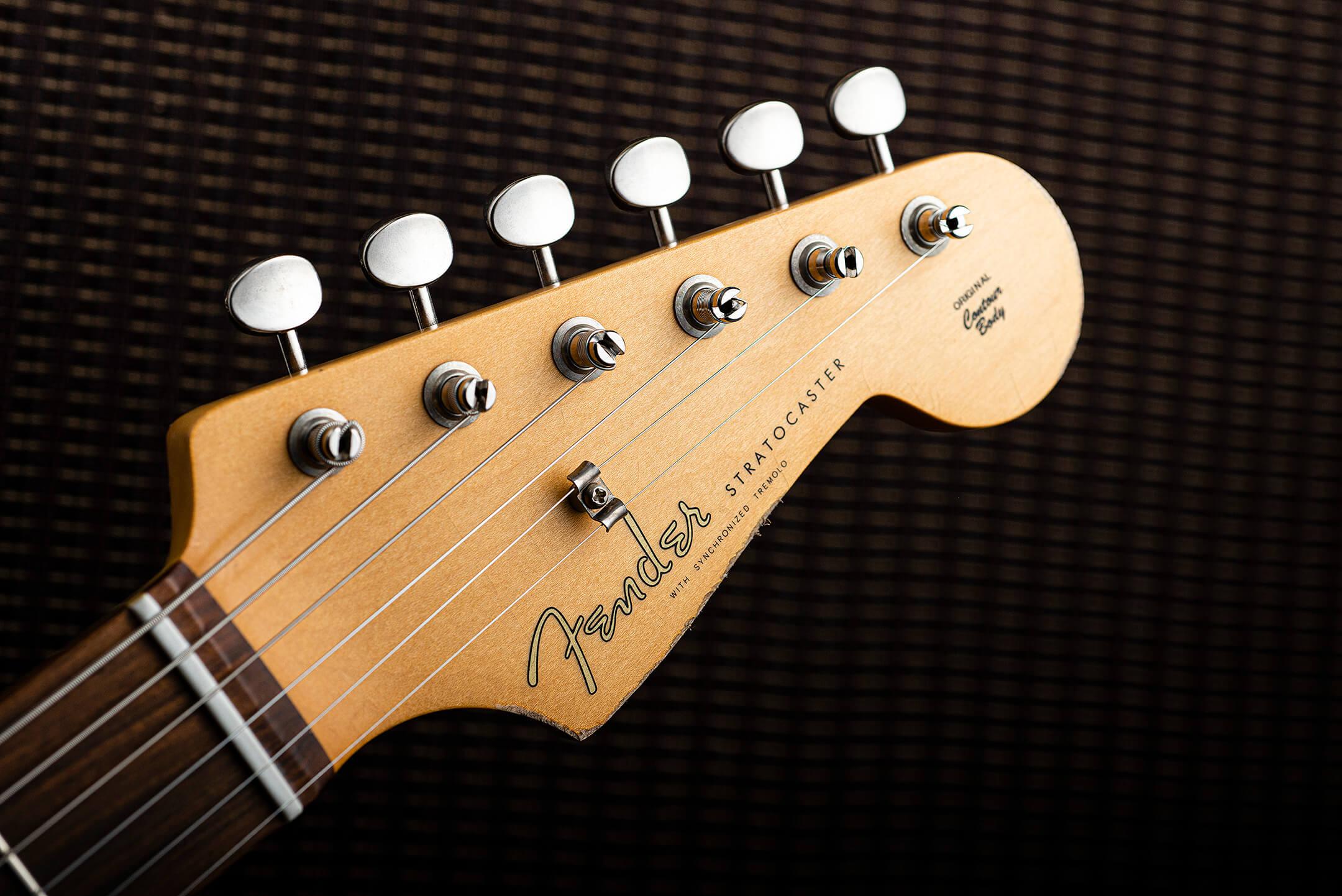 Fender Vintera Road Worn 60s Stratocaster Headstock