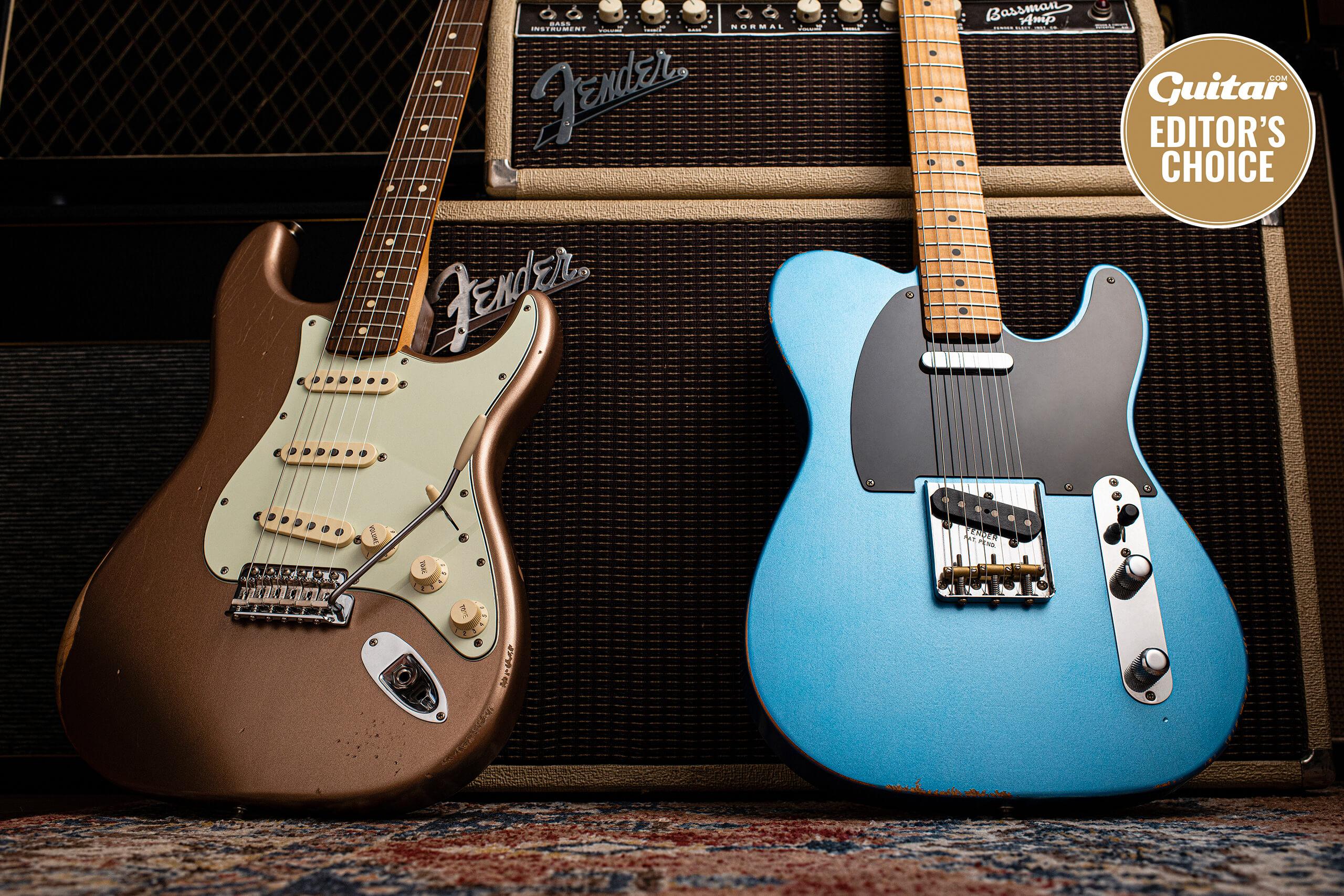 Fender Vintera Road Worn '50s Telecaster & '60s Stratocaster