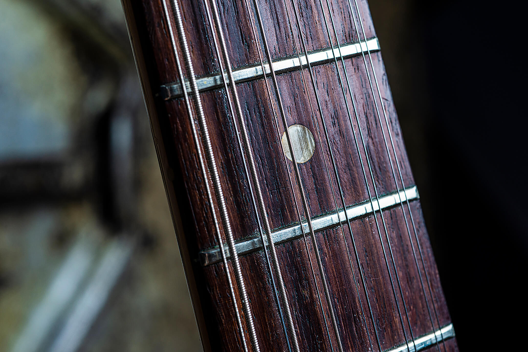 Thurston Moore's Fender Electric XIII Fretboard