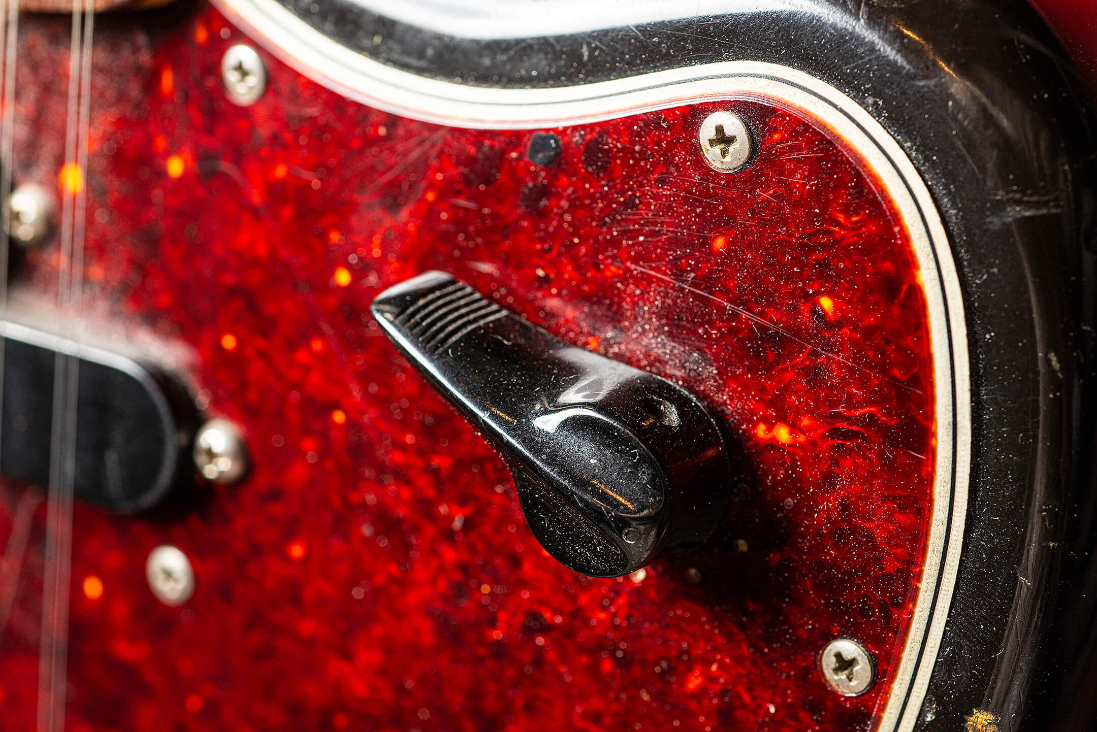 Thurston Moore's Fender Electric XIII Switch