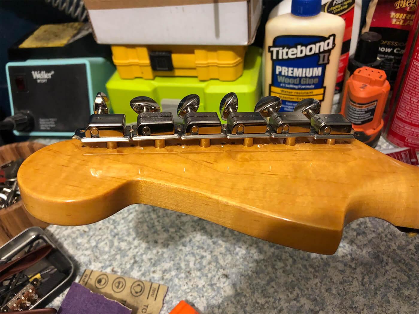 GM387 DIY2 Jazzmaster Tuner 4