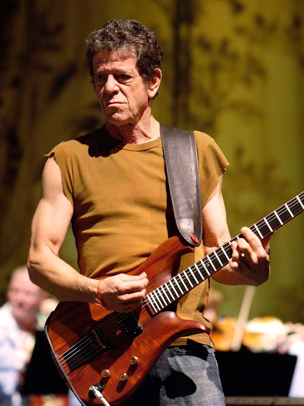 Lou Reed of Velvet Underground
