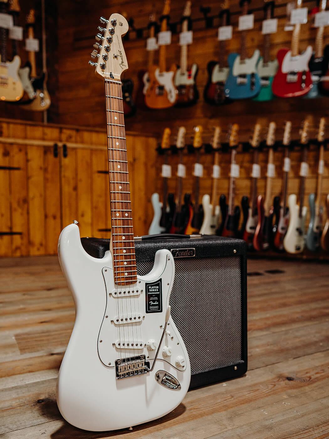 Fender Stratocaster w Blues Junior