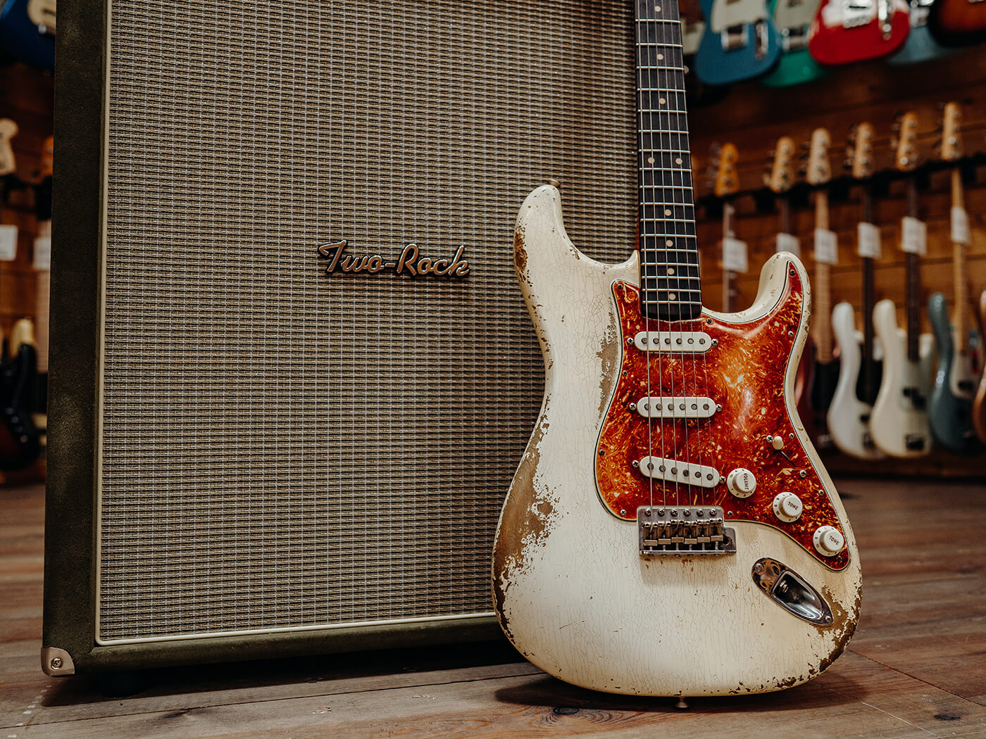 Fender Stratocaster w Two Rock Silver Sterling Signature