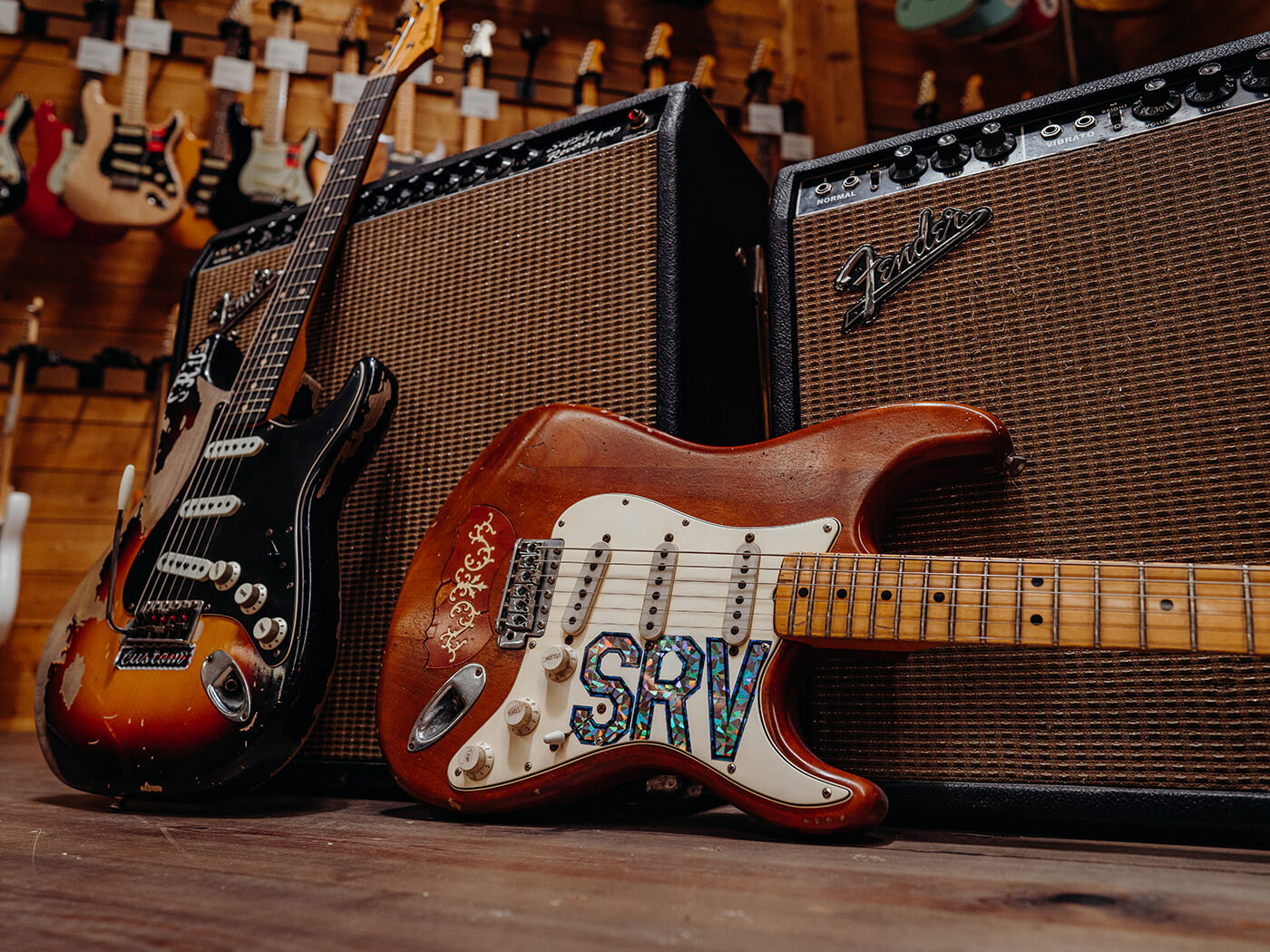 Stevie Ray Vaughan Stratocasters