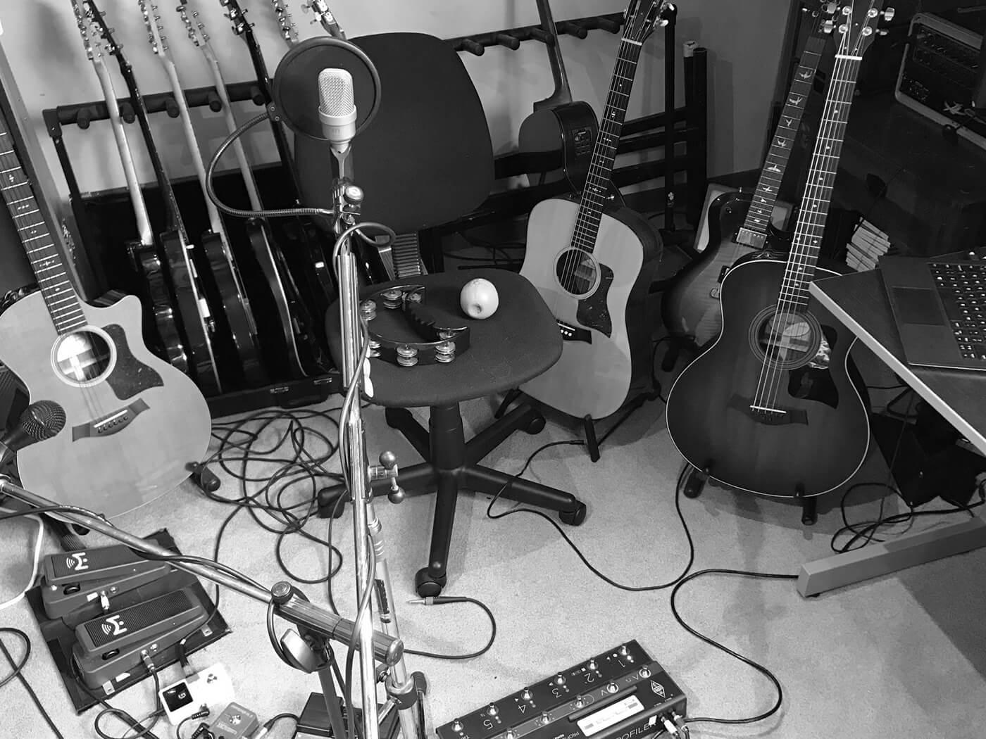 Bruce Soord of The Pineapple Thief's Martin Guitars