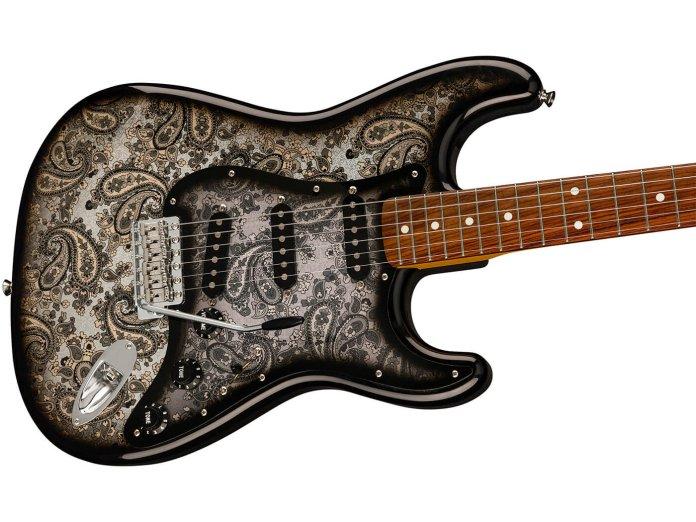 Fender Black Paisley Stratocaster