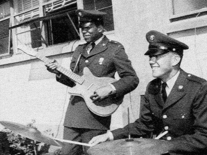 Jimi Hendrix in 1961