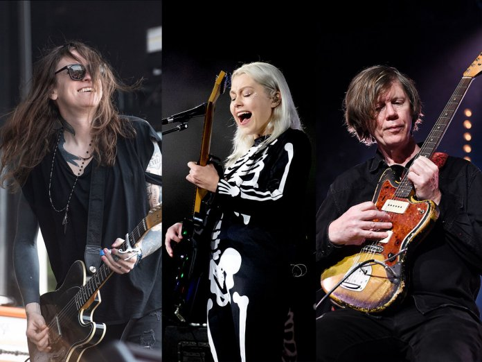 Laura Jane Grace, Phoebe Bridgers, Thurston Moore