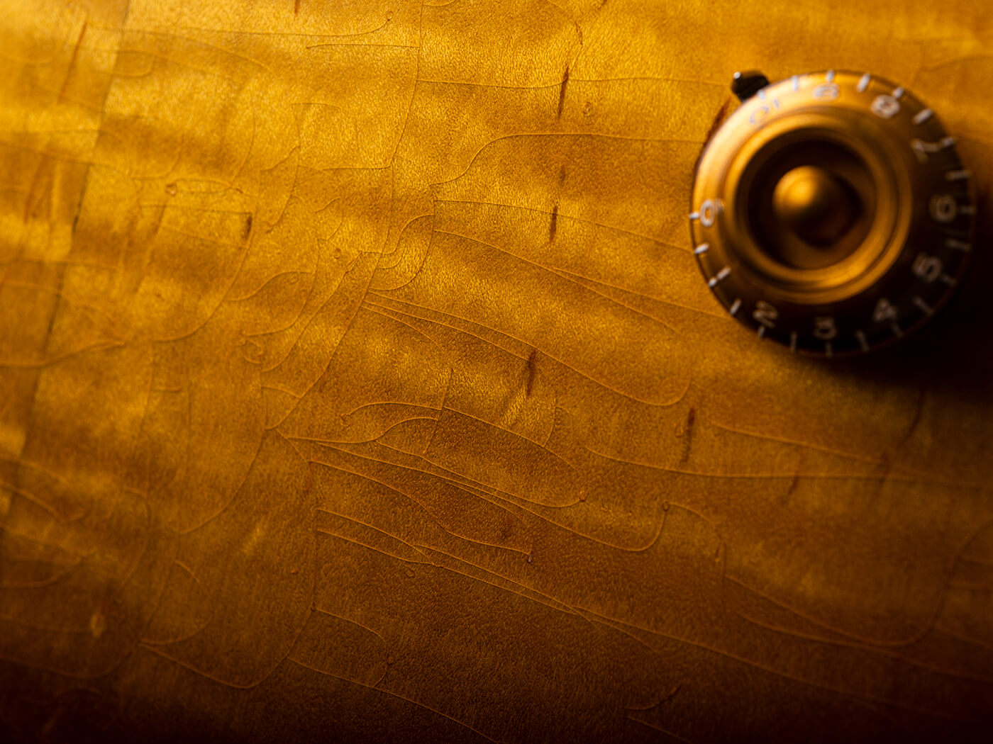Ivison Guitars The Hurricane Body