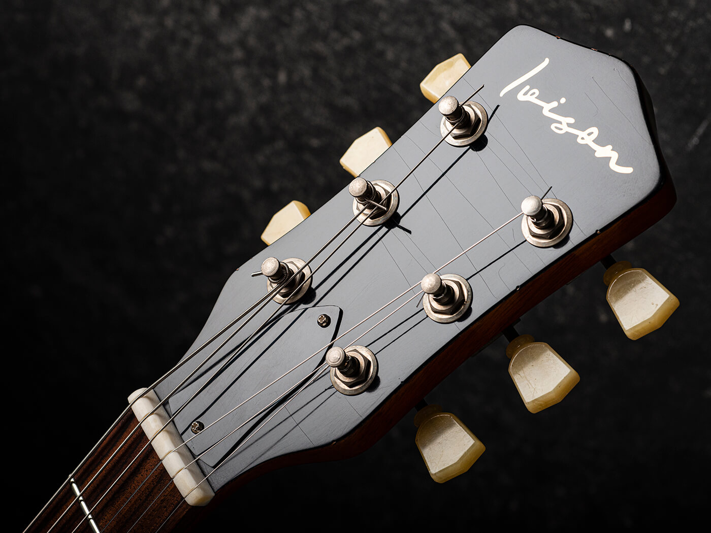 Ivison Guitars The Hurricane Headstock