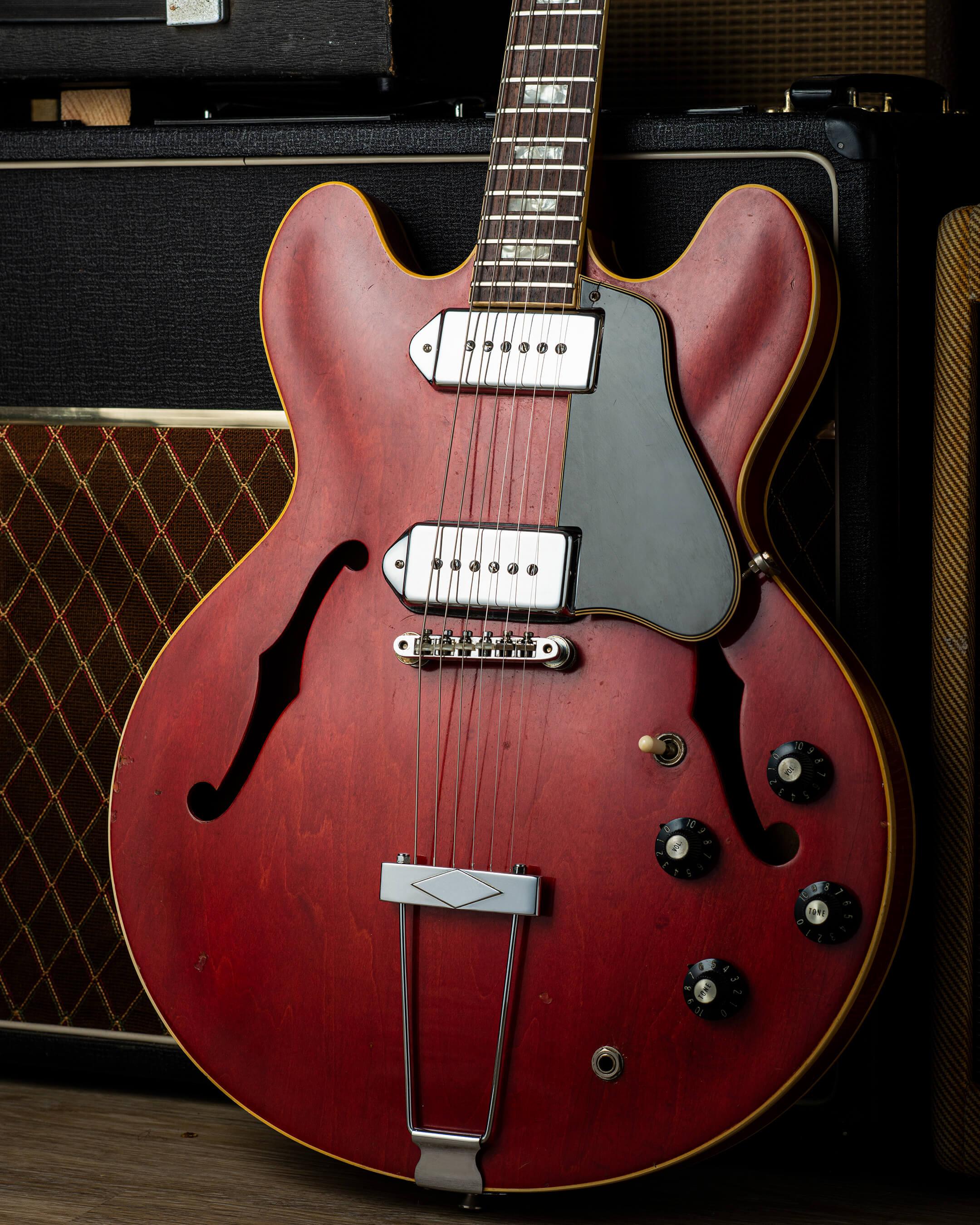 Vintage Bench Test: Gibson 1969 Es-330 'Long Neck'