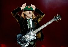 Angus Young Onstage