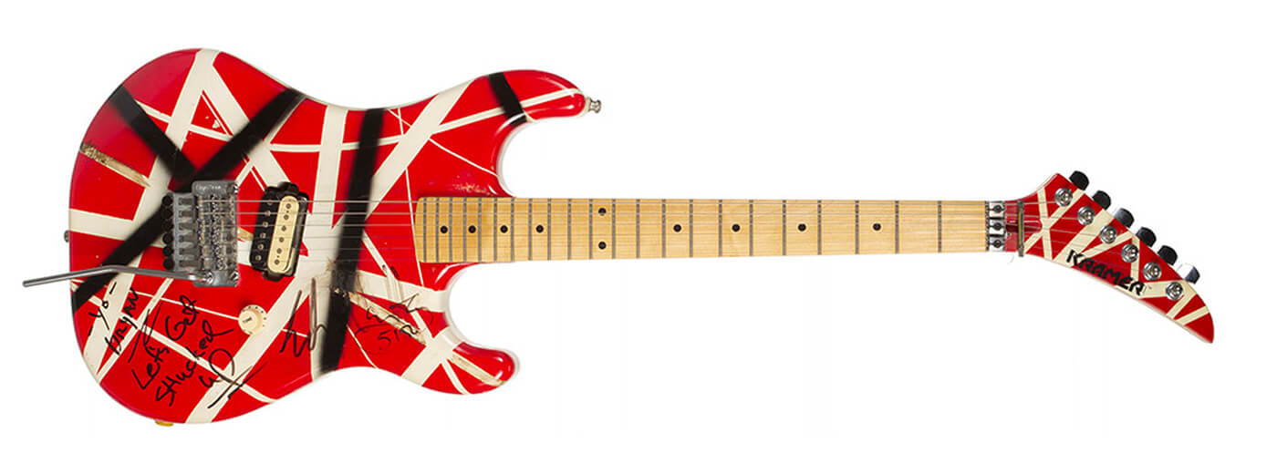EVH Custom Guitar Julien's Auctions