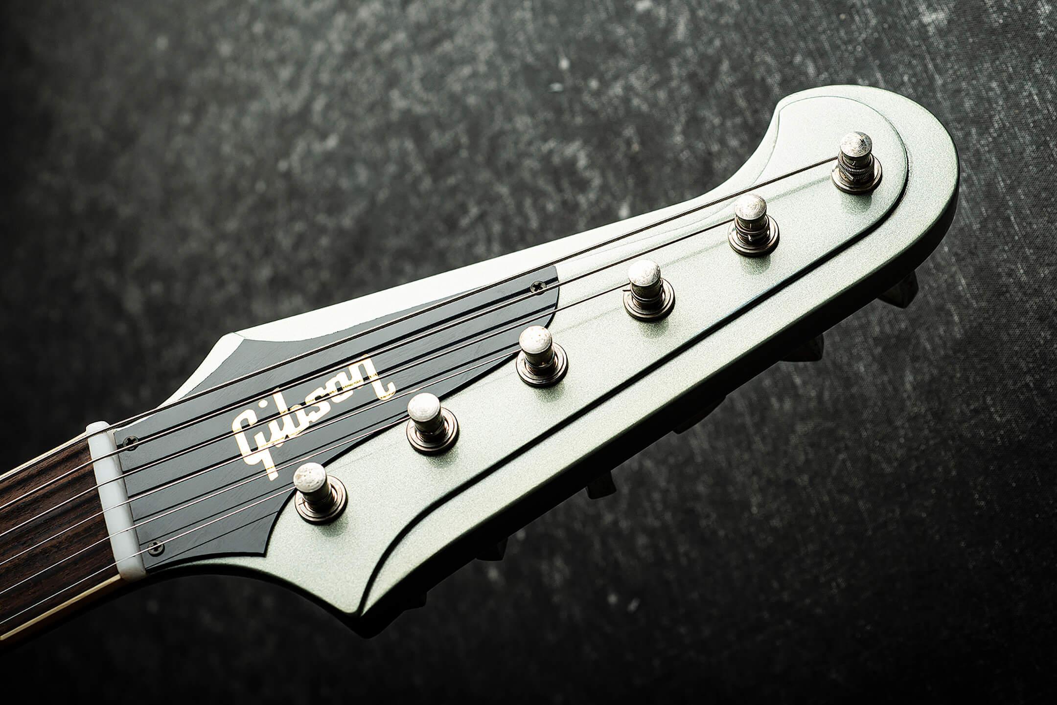 Gibson Custom '63 Firebird V Headstock