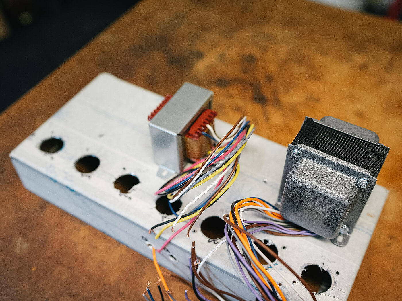 Amp FAQ Gibson EH-185 Build Part 2