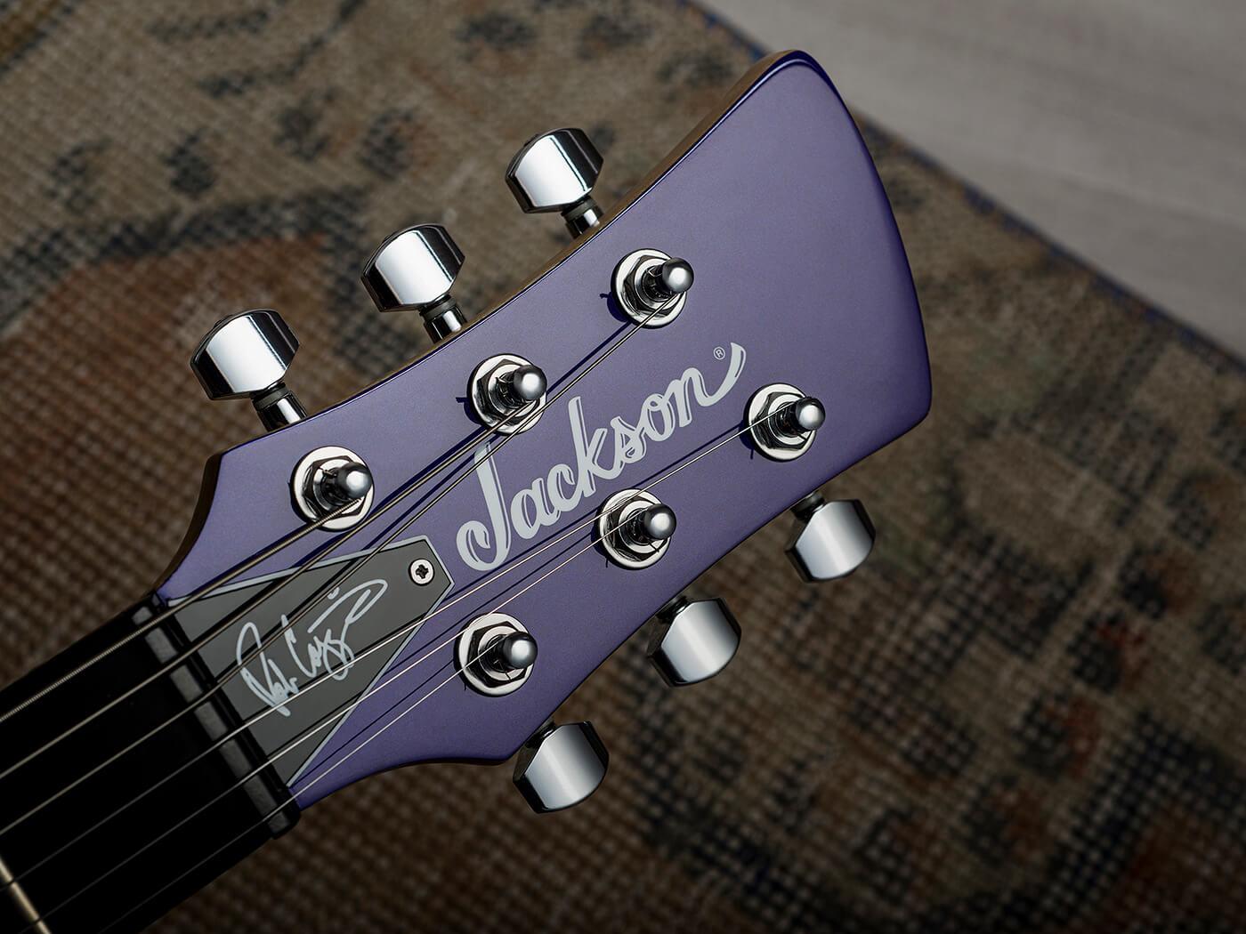 Jackson Pro Series Rob Caggiano Signature Shadowcaster Headstock