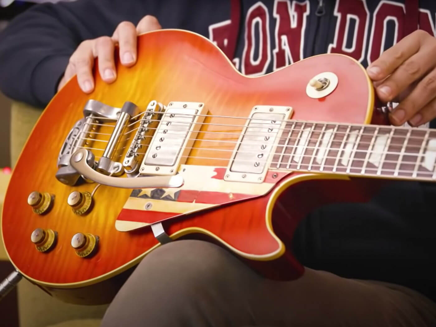 Joe Bonamassa Guitars Safari Tommy Bolin Burst