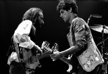 John McAvie and Lindsey Buckingham live in 1977