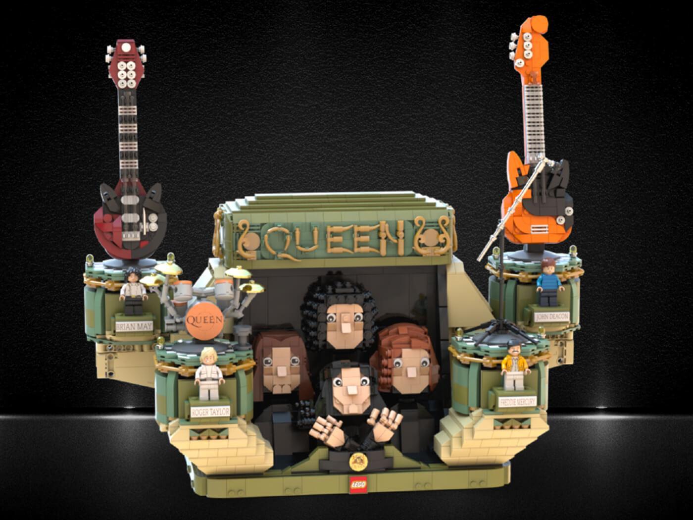 LEGO Queen Monument