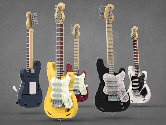 LEGO Stratocasters