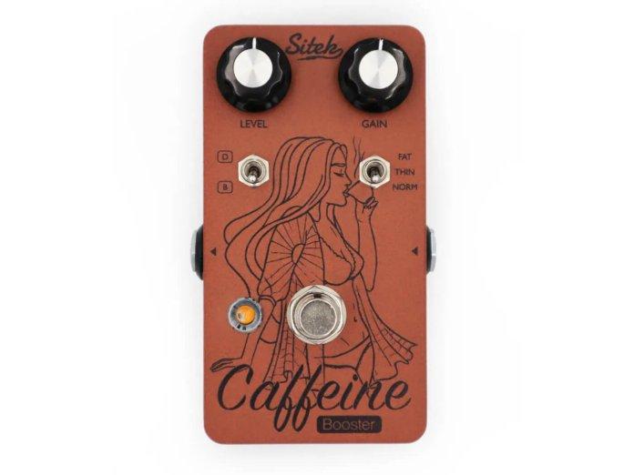 Sitek Guitar Electronics Caffeine Booster V2