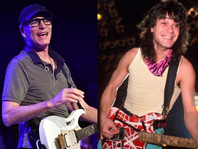 Steve Vai and Eddie Van Halen