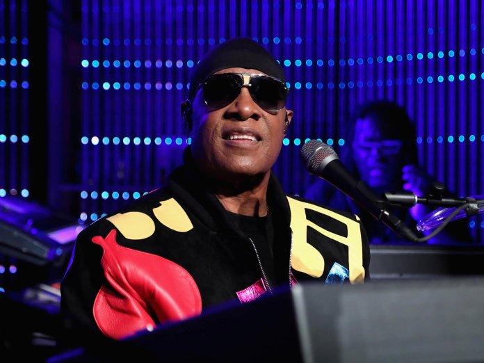 Stevie Wonder onstage