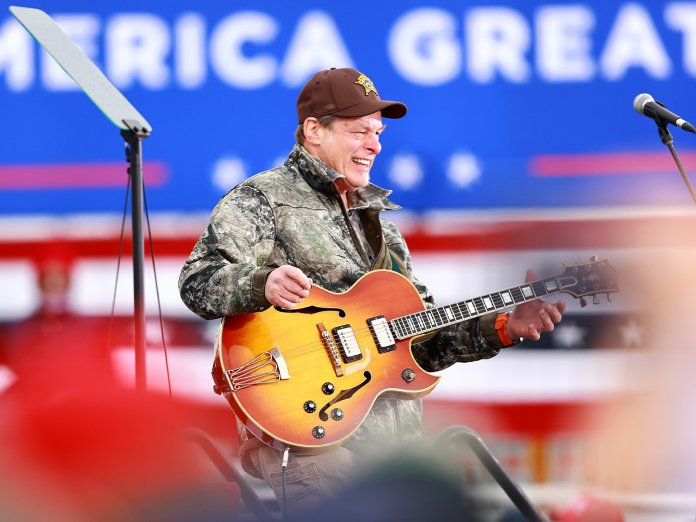 Ted Nugent onstage