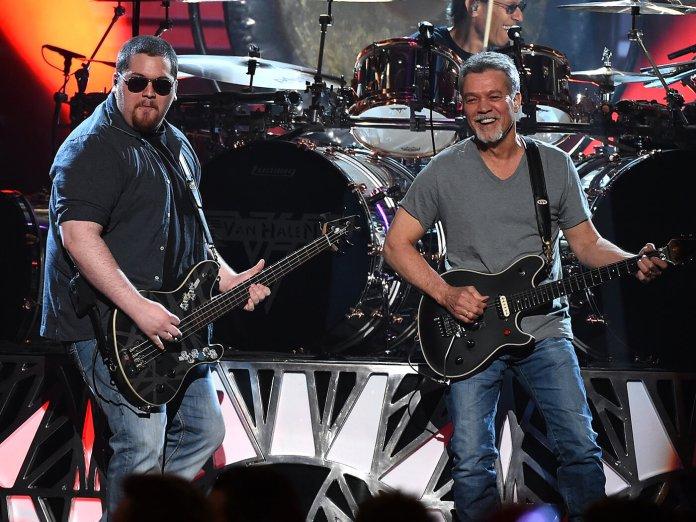 Van Halen onstage
