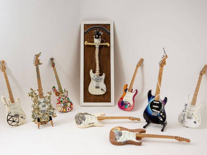 The customised big issue guitars