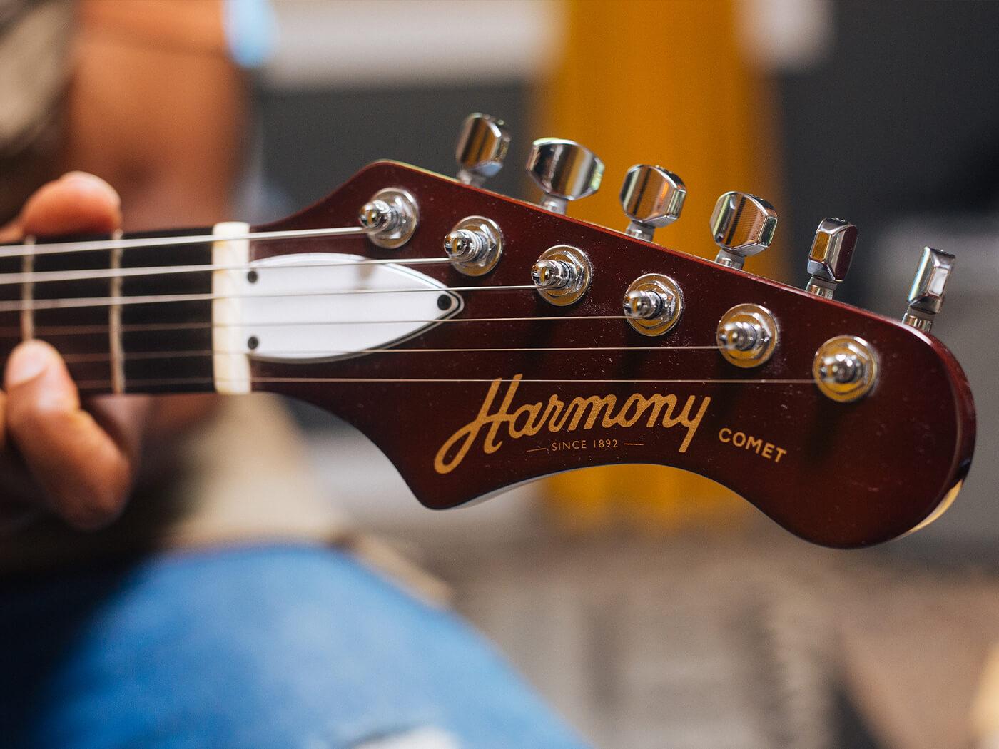 Harmony Comet Headstock
