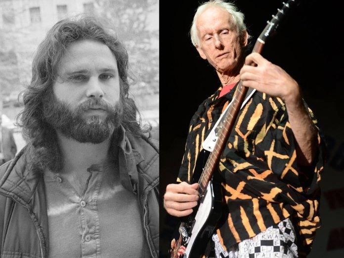 Jim Morrison / Robby Krieger onstage