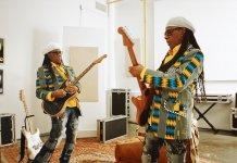 Nile Rodgers in Fender's Acoustasonic demo video