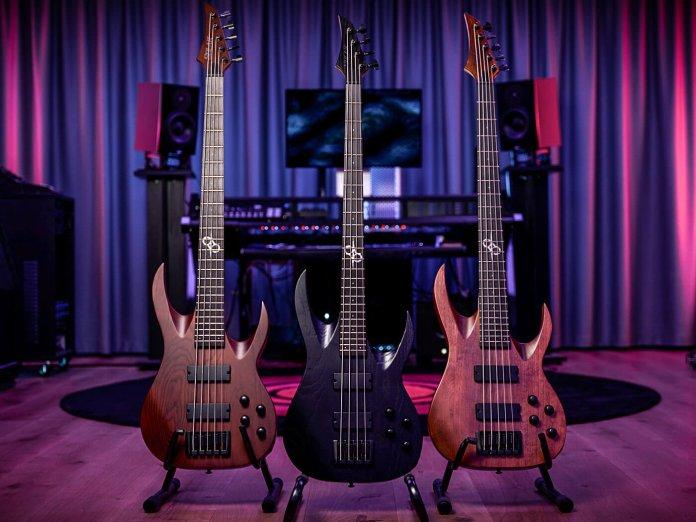 Solar's new bass guitars