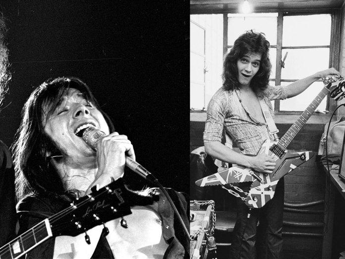 Steve Perry and Eddie Van Halen