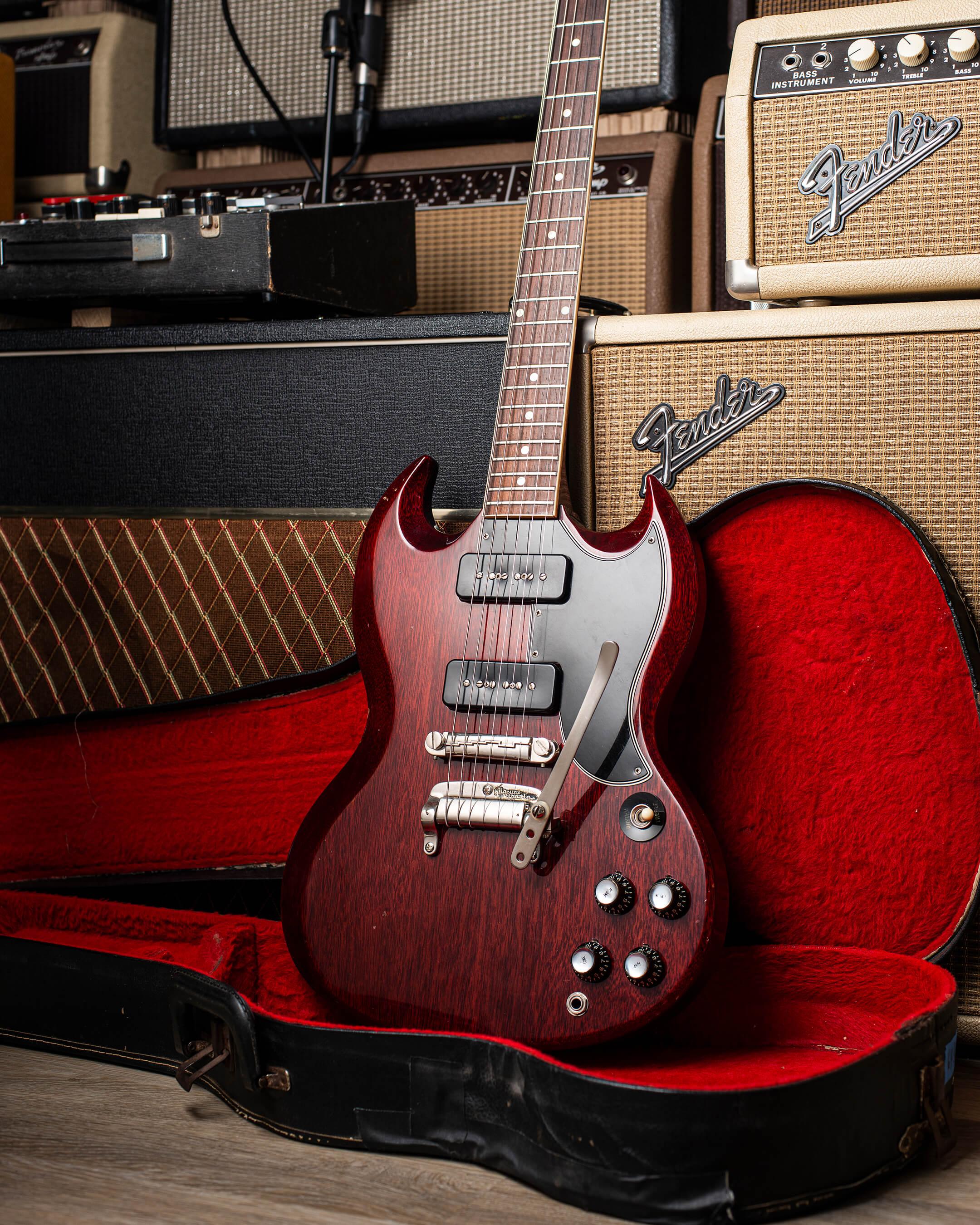 1963 Gibson SG Special Body w Case