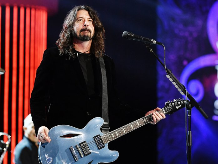 Dave Grohl onstage