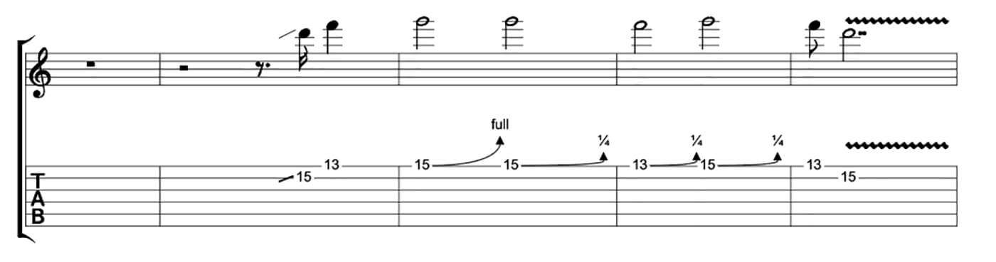 Freddie King Essential Blues Lick 1
