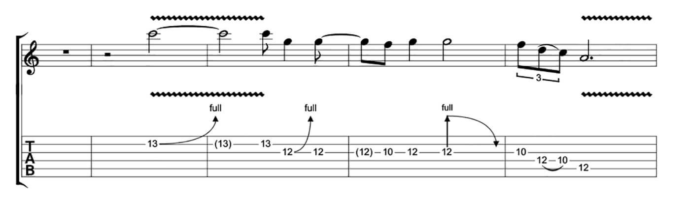 Freddie King Essential Blues Lick 2