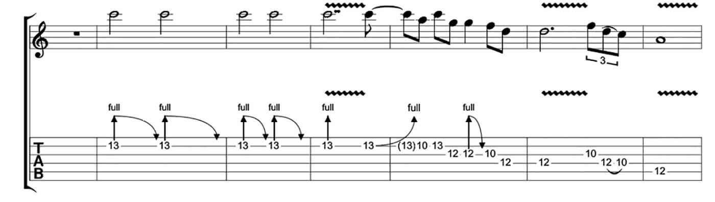 Freddie King Essential Blues Lick 3