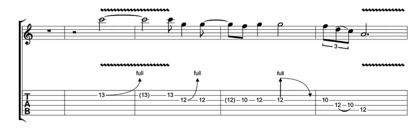 Freddie King Essential Blues Lick 4