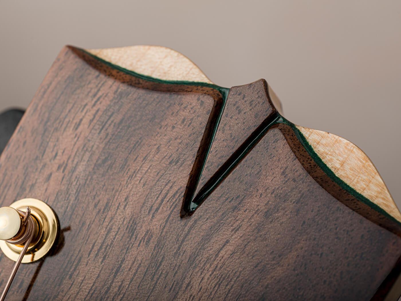 Turnstone Guitars E Series Headstock