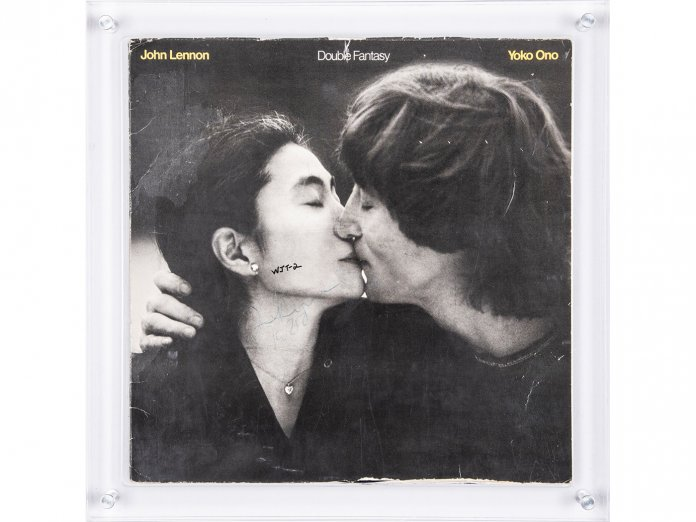 John Lennon Double Fantasy via Goldin Auctions