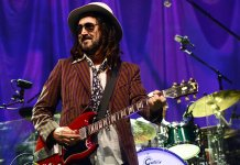 Mike Campbell onstage
