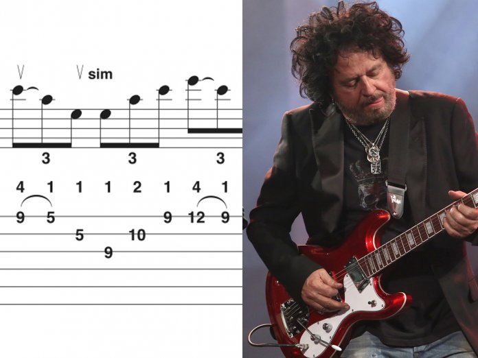 Steve Lukather and some tabs