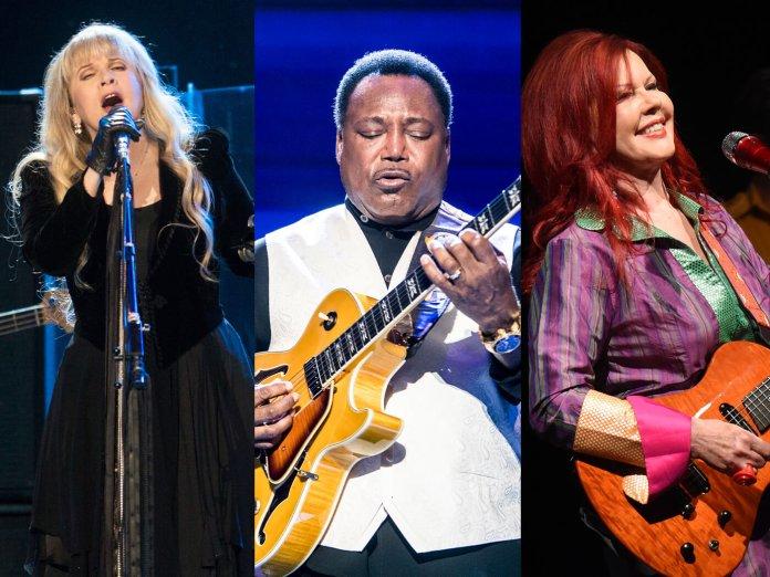Stevie Nicks, George Benson and Kate Pierson