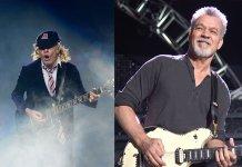 Angus Young and Eddie Van Halen