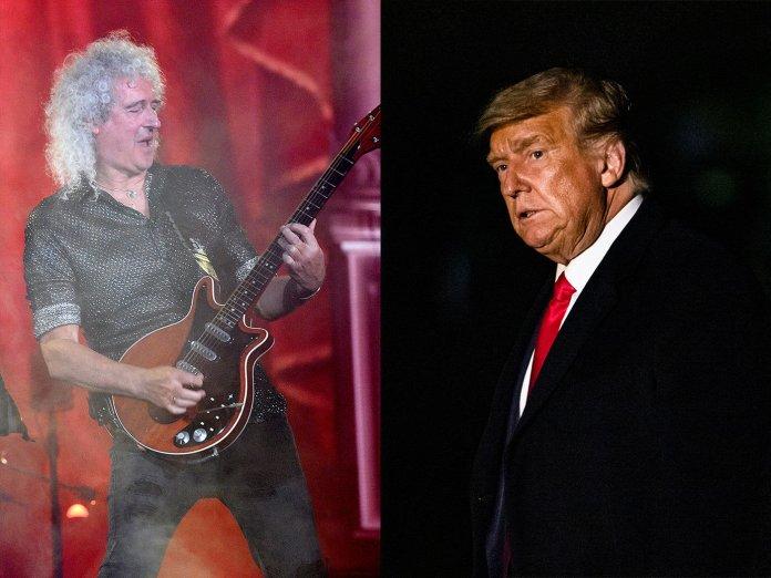 Brian May / Donald Trump