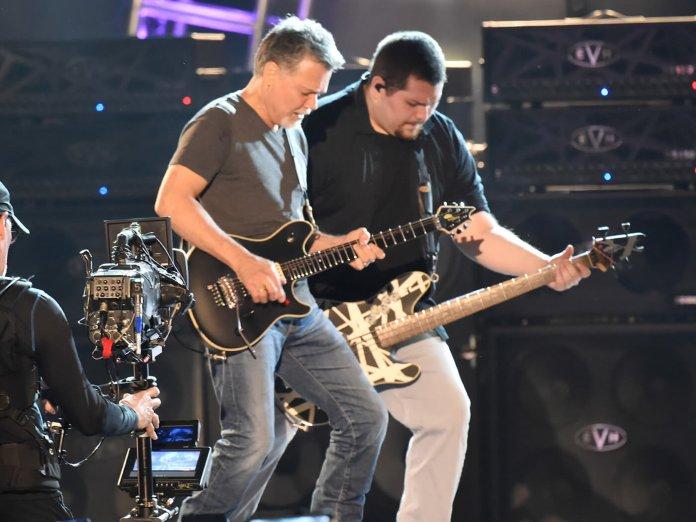 Eddie Van Halen & Wolfgang Van Halen